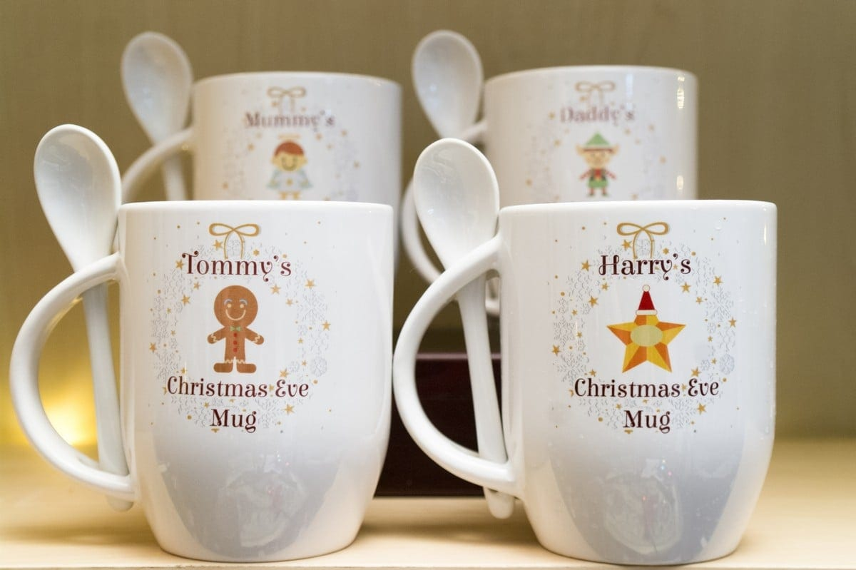 Personalised Christmas Eve Mug – December Dreams